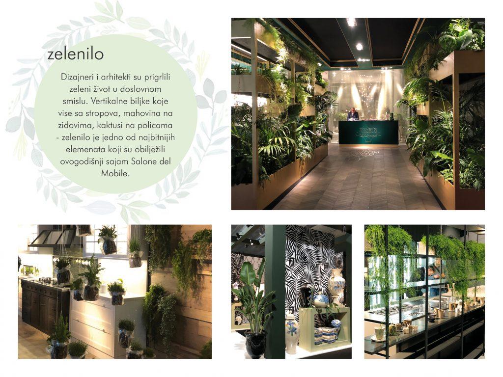 Max&Moris Salone del Mobile - puno biljaka u uredenju interijera su hit