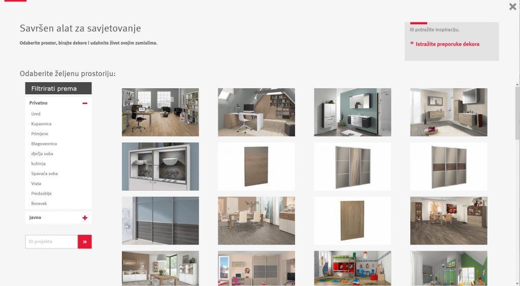 Egger Design Guide - odaberite prostoriju i krenite kombinirati dekore