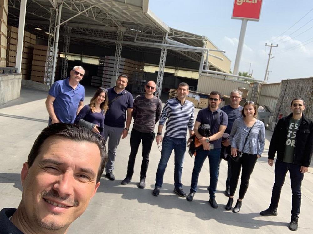 S partnerima iz tvrtke Gizir