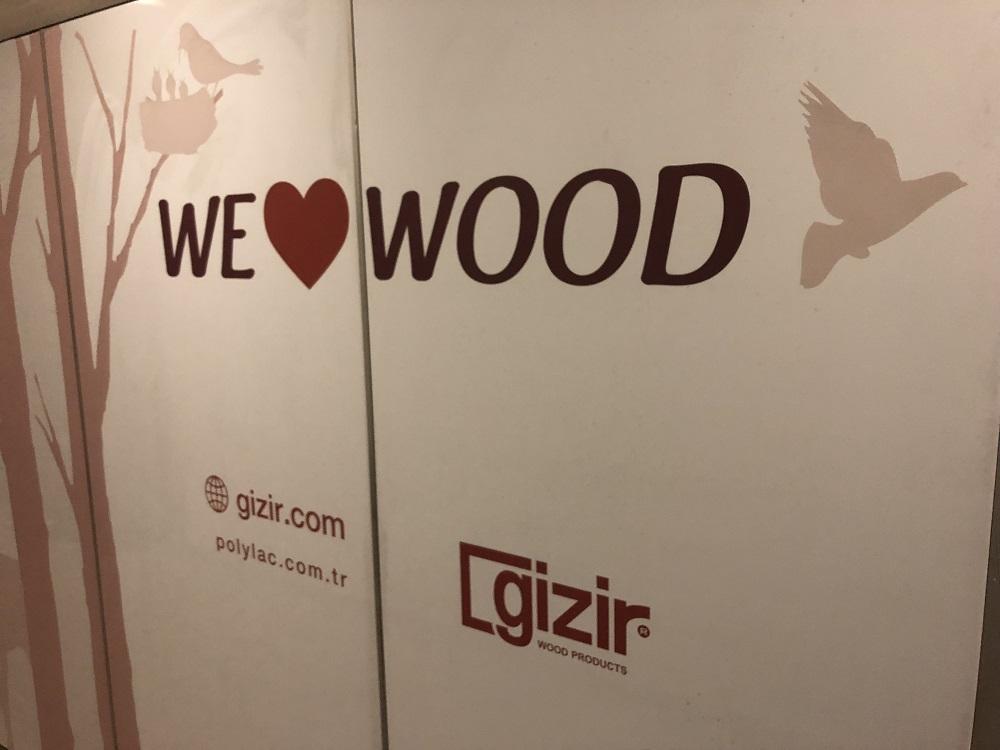 We love wood, Gizir